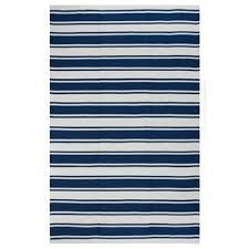 Blue Striped Area Rugs Barclay Butera Oxford Awning Stripe Area Rug By Nourison 5 3 X 7