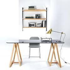 plaque de bureau en verre bureau plaque de verre atome bureau plateau verre gris bureau plaque
