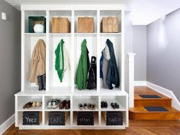 Mudroom Storage by Mudroom Closet Design Ideas Efficient Family Friendly Storage