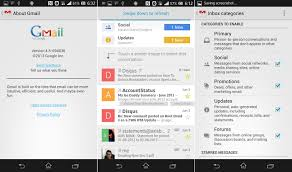 gmail update apk new gmail apk v4 5 with categories contact icons etc