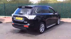 black mitsubishi outlander mitsubishi outlander phev gx5hs black 2015 youtube