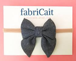 headband with bow bow headband etsy