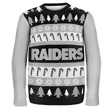 raiders christmas sweater with lights oakland raiders ugly christmas sweaters christmas gifts for everyone