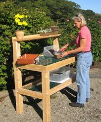 potting bench treenovation