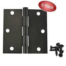 Teh Qhi cosmas rubbed bronze door hinge 3 5 inch x 3 5 inch with