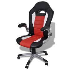 fauteuil de bureau sport cuir noir 0502006 achat vente