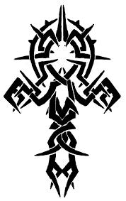 tribal unique design of ankh tattoo tattooshunt com