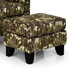 Armchair Ottoman Stanton Accent Chairs And Ottomans Contemporary Accent Chair