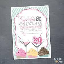 invite cupcake and cocktails party ideas pinterest 50