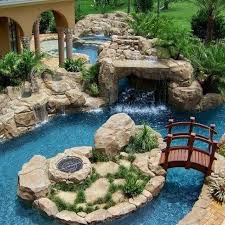 Beautiful Pool Backyards Backyard Escapes Pools Backyard And Yard Design For Village