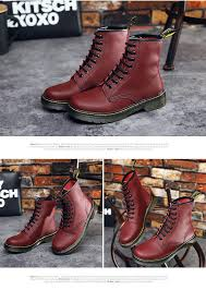 casual motorcycle shoes fashion 2016 autumn winter leather dr martin casual shoes martin