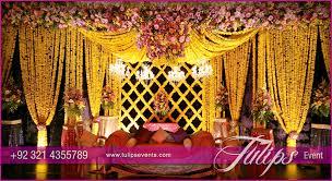Stage Decoration Ideas Grand Wedding Mehendi Stage Decoration Ideas In Pakistan 14