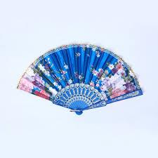 japanese folding fan japanese folding silk pocket flower fan wedding
