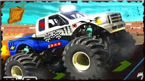 3d monster truck stunt racing stunt monster 3d game walkthrough all levels youtube