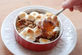 yams thanksgiving marshmallows praline sweet potatoes with toasted marshmallows beneficial bento