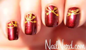 nail nerd nail art for nerds dressed up holiday nails