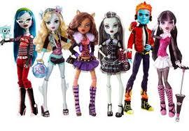 monster doll monster teenage