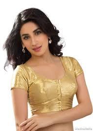 golden blouse buy gold shimmer readymade blouse