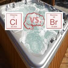 bromine vs chlorine the age old hot tub water debate aqua tech