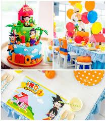 kara u0027s party ideas dragon ball themed birthday party via kara u0027s