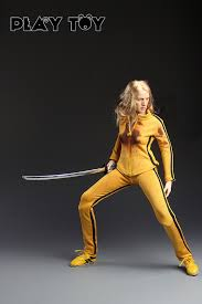 bruce yellow jumpsuit play killer 1 6 scale collectable figure