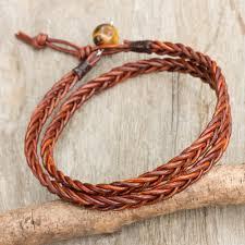 braid hand bracelet images Mens bracelets men 39 s bracelet collection at novica jpg