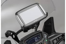 traversino manubrio moto supporto traversino manubrio per gps con lock aggancio