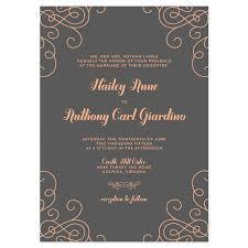 contemporary wedding invitations modern wedding invitations