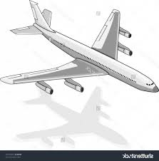 simple plane drawing coloring pages airplanes printable kids