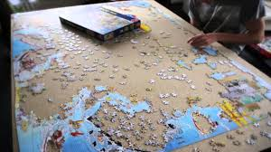5000 pieces puzzle in 30 seconds youtube