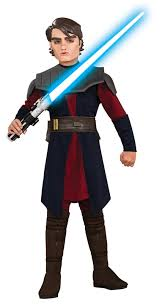 star wars costumes star wars animated deluxe anakin skywalker child costume