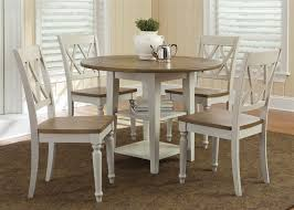 Drop Leaf Dining Table Al Fresco Server In Driftwood U0026 Sand White Finish By Liberty