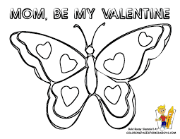 butterfly printables for kids coloring home