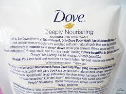 Sabun Dove Cair dove deeply nourishing wash silver treasure on a budget