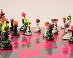 sophie matisse creates unique chess sets for purling london