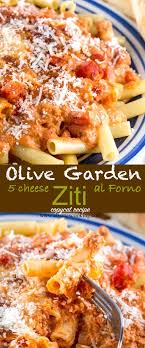 Cat Recipe Olive Garden Five Cheese Ziti Al Forno - 4 cheese baked ziti olive garden best cheese 2018