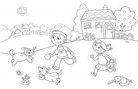family colouring pages funycoloring