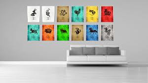 chinese zodiac decorative wall art home décor gift ideas