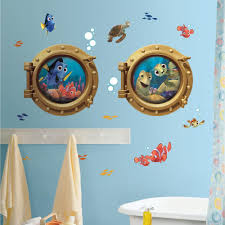 wall decal porthole wall decal thousands pictures of wall finding nemo mural wall stickers 19 decals porthole party decor fish