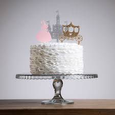 castle cake topper princess castle cake topper decoration set by funky laser