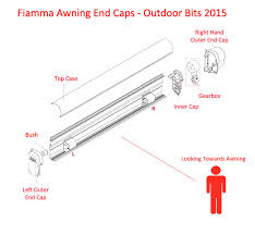 Omnistor Awning Parts Fiamma Awning End Caps Outdoor Bits