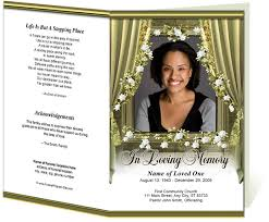 funeral programs template funeral program site templates memorials superstore