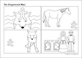 gingerbread man sequencing sheets sb6673 sparklebox