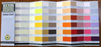testers charts matches standard colour chart hand painted