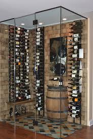 contemporary wine rack wine cellar contemporary with white oak