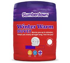 Silent Night 7 5 Tog Duvet Buy Slumberdown Winter Warm 15 Tog Duvet Kingsize At Argos Co Uk
