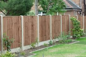 Fence Ideas For Garden Wood Garden Fence Designs Garden Design