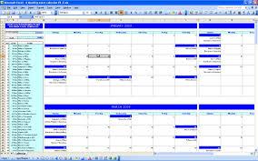 Excel Templates Calendar Activity Calendar Template Thegreyhound