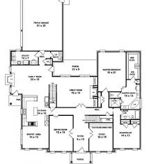 Colonial Style Floor Plans by House For Rent 5 Bedroom Colonial House Plans Colonial Floor