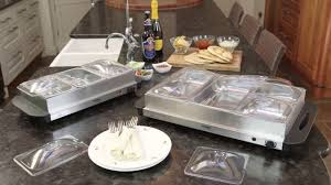 Oster Buffet Warmer by Cooks Professional Buffet Warmer And Hotplate Youtube